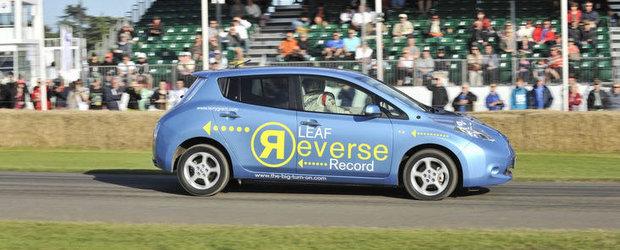 VIDEO: Nissan doboara recordul la... mersul cu spatele