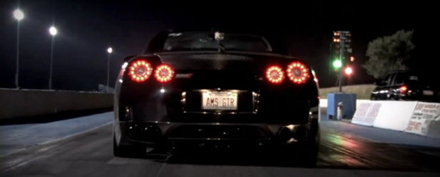 Video: Nissan GT-R Alpha 9 parcurge sfertul de mila in doar 9 secunde!