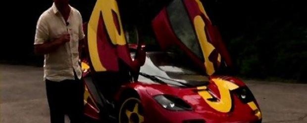 """Video: """"Norocosii"""" de la Autocar au condus legendarul McLaren F1 GTR!"""