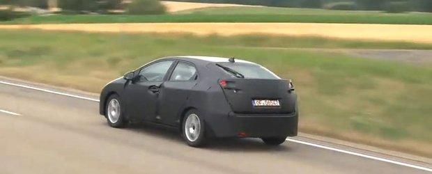 VIDEO: Noua Honda Civic 2012 spionata!