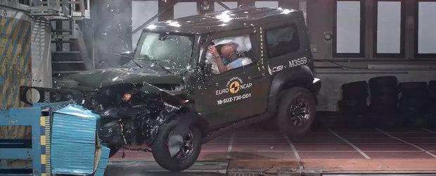 VIDEO: Noua masina de la Suzuki isi ia zborul si se intoarce de la EuroNCAP cu doar 3 din 5 stele