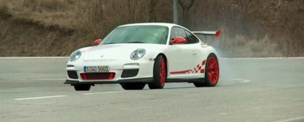 Video: Noul 911 GT3 RS, in actiune la Autocar!
