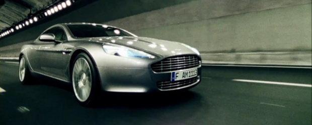 Video: Noul Aston Martin Rapide ajunge star de cinema