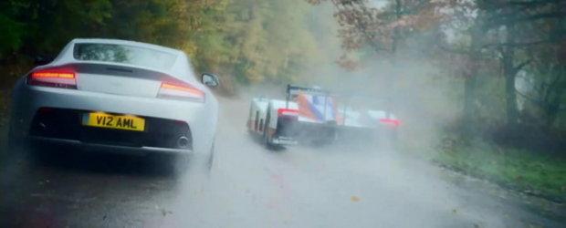Video: Noul Aston Martin V12 Vantage face cunostinta cu extremul DBR1-2