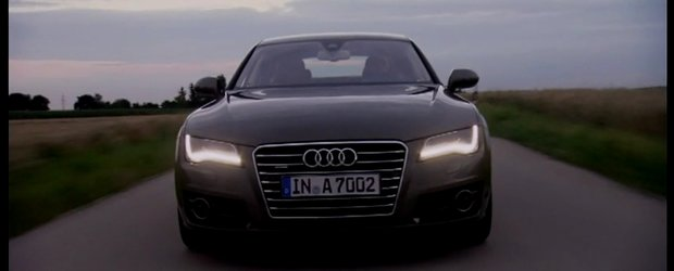 Video: Noul Audi A7 Sportback in actiune!