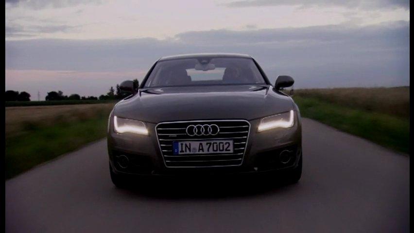 Video: Noul Audi A7 Sportback in actiune!