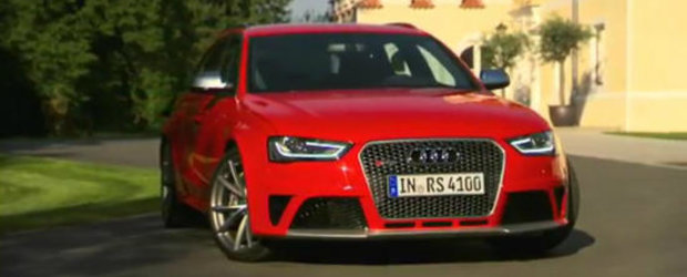 VIDEO: Noul Audi RS4 Avant se prezinta in detaliu, intr-un film lung de 14 minute