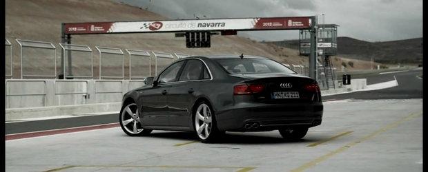 VIDEO: Noul Audi S8 isi face aparitia in primele filme oficiale