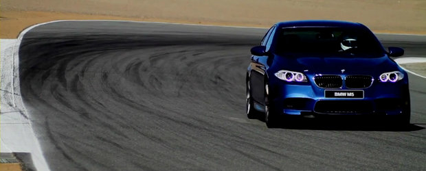 VIDEO: Noul BMW M5 debarca la Laguna Seca
