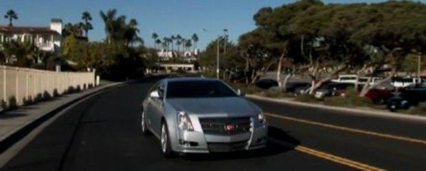 Video: Noul Cadillac CTS Coupe se prezinta in detaliu