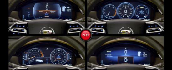 VIDEO: Noul Cadillac XTS se bucura de ceasuri de bord digitale si configurabile