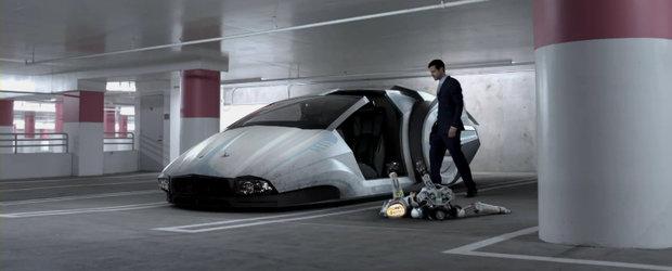 Video: Noul Dodge Charger lupta impotriva suprematiei robotilor