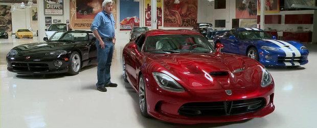 VIDEO: Noul Dodge Viper viziteaza Garajul lui Jay Leno