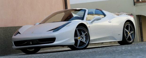 VIDEO: Noul Ferrari 458 Spider ajunge pe mana celor de la Autocar