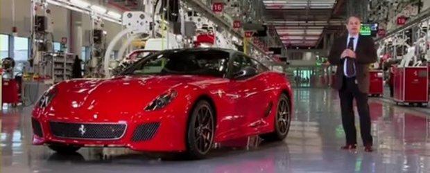 Video: Noul Ferrari 599 GTO in detaliu!