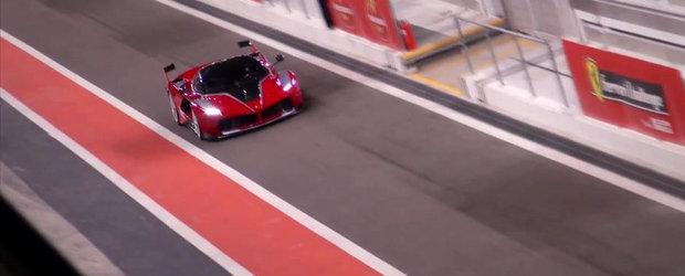 VIDEO: Noul Ferrari FXXK arata demonic, suna absolut demential