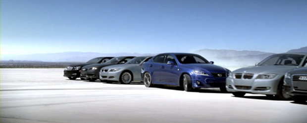 Video: Noul Lexus IS ataca modelele Mercedes C-Class, BMW Seria 3 si Audi A4!