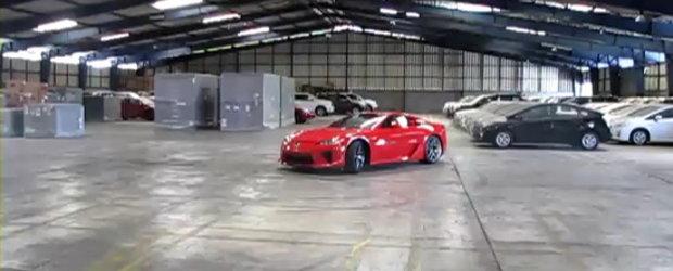 Video: Noul Lexus LFA ne ofera o portie serioasa de gogosi. Gratis!