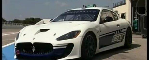 Video: Noul Maserati GranTurismo MC pe circuit