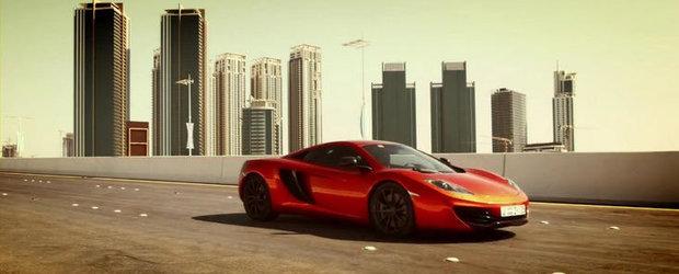 VIDEO: Noul McLaren MP4-12C ne poarta prin Abu Dhabi