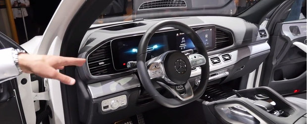 VIDEO: Noul Mercedes GLE are un interior care te face sa uiti complet de existenta rivalilor