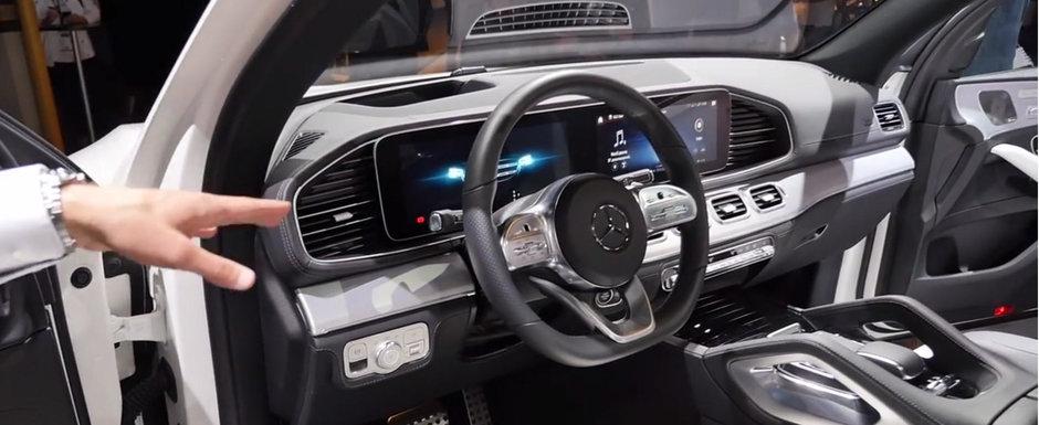 VIDEO: Noul Mercedes GLE are un interior care te face sa uiti complet de existenta rivalilor