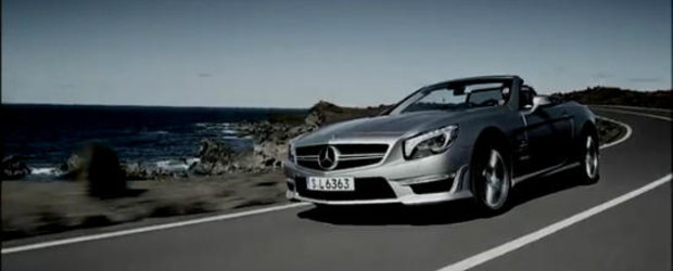 VIDEO: Noul Mercedes SL63 AMG revine pe pelicula!