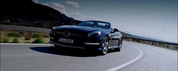 VIDEO: Noul Mercedes SL65 AMG debuteaza pe micile ecrane