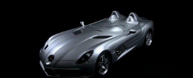 Video: Noul Mercedes SLR Stirling Moss se prezinta in detaliu