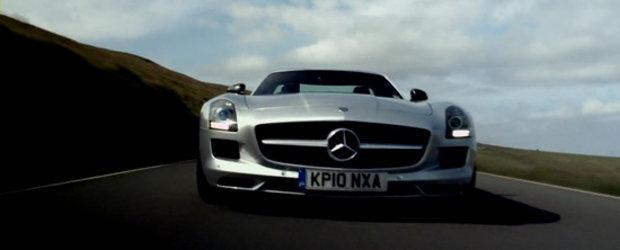 Video: Noul Mercedes SLS AMG ajunge in lumea fascinanta a 3D-ului!