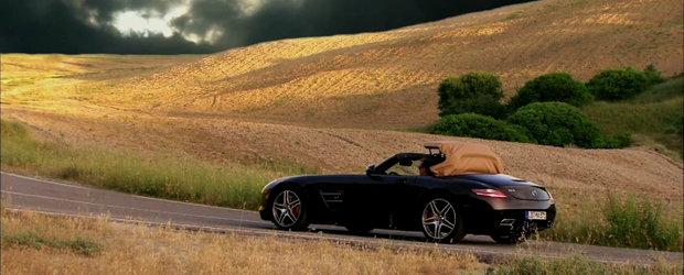 Video: Noul Mercedes SLS AMG Roadster ne trezeste toate emotiile la viata