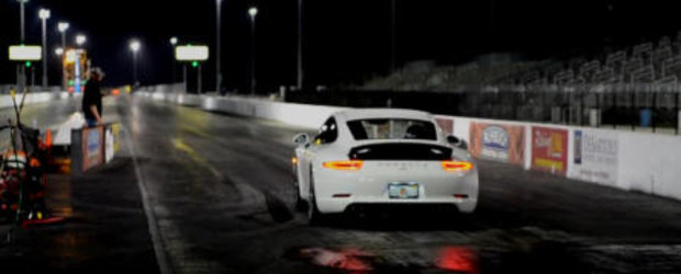 VIDEO: Noul Porsche 911 Carrera S parcurge sfertul de mila in 12.04 secunde