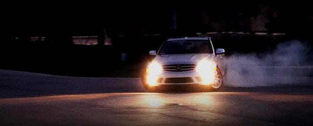 Video: Noul Renntech C63 AMG ne livreaza o portie serioasa de gogosi!