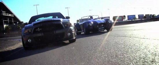 Video: Noul Shelby Super Snake provoaca la duel legendarul Shelby Cobra!