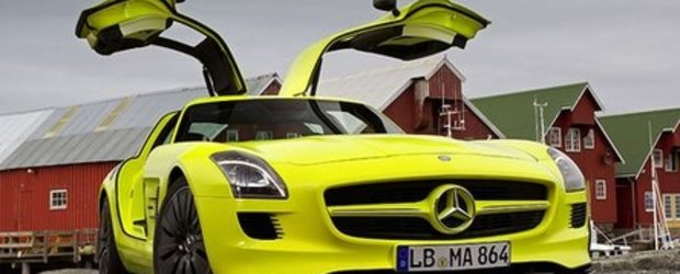 Video: Noul SLS AMG E-Cell electrizeaza Norvegia!