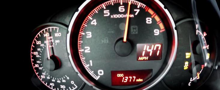 VIDEO: Noul Subaru BRZ accelereaza pana la 237 km/h
