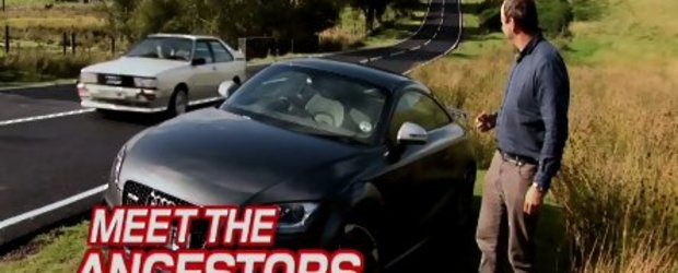 Video: Noul TT-RS isi intalneste stramosul