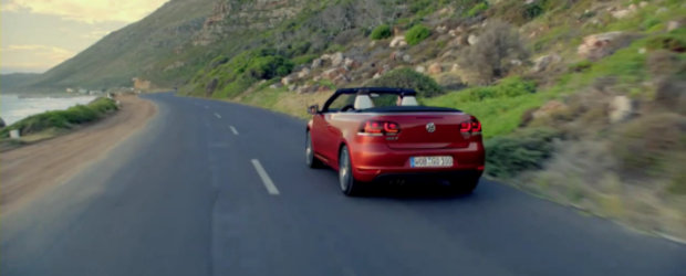 Video: Noul VW Golf 6 Cabrio isi face aparitia in primul promo oficial