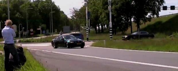 Video: O femeie, un BMW M3 si... drifting