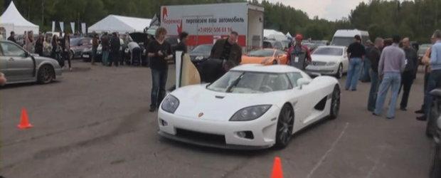 Video: O privire asupra masinilor prezente la Moscow Unlimited 2010!
