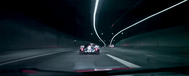 VIDEO: Pagani Zonda Cinque face spectacol pe strazile din Singapore