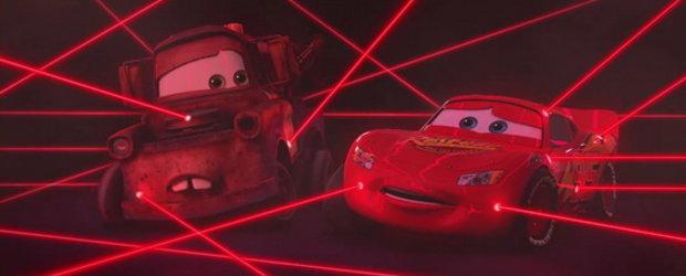 Video: Pixar dezvaluie primul teaser al filmului Cars 2