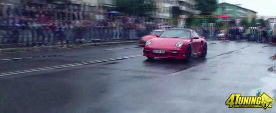 Video: Ploaie si mii de cai putere in cursele de la Targu Secuiesc!
