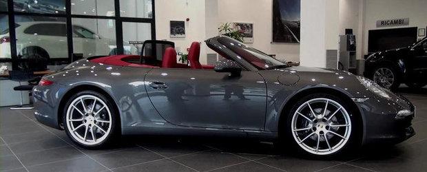 VIDEO: Porsche 911 Cabriolet in detaliu