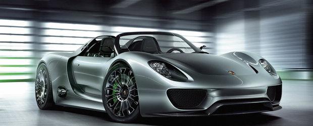 VIDEO Porsche 918 Spyder, in cele mai mici detalii