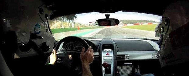 VIDEO: Porsche Carrera GT la Spa-Francorchamps