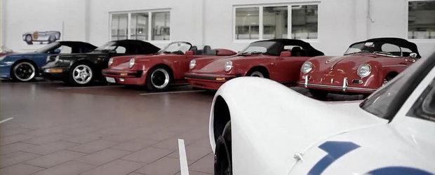 VIDEO: Porsche ne dezvaluie cateva dintre secretele muzeului sau din Stuttgart