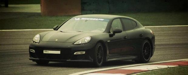 VIDEO: Porsche Panamera Turbo stabileste un nou record pe circuitul din Shanghai