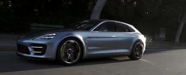 VIDEO: Porsche prezinta noul Panamera Sport Turismo in actiune si detaliu