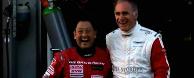VIDEO: Presedintii Aston Martin si Toyota piloteaza impreuna la Nurburgring